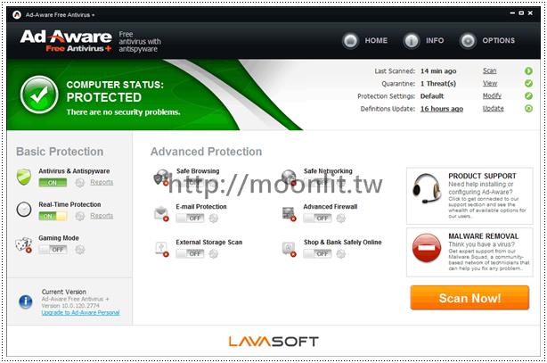 ad-aware防毒軟體下載 Ad-Aware Free Antivirus+