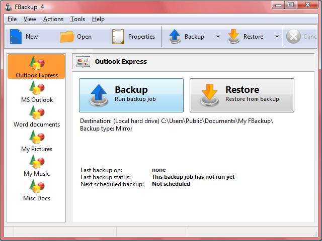 電腦還原軟體 FBackup 4.8.276