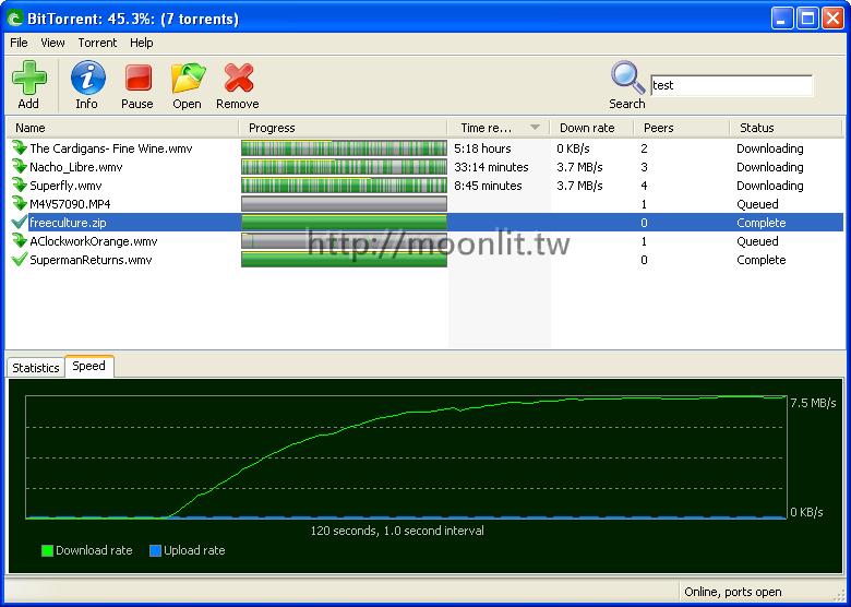 bt下載器 推薦軟體 BitTorrent下載軟體