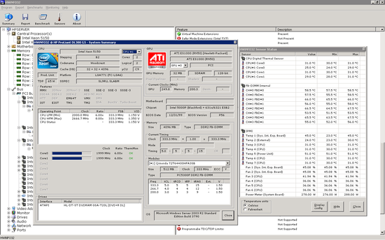 電腦硬體資訊檢測軟體 HWiNfo64 3.93